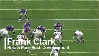 Frank Clark's Pass Rush Development (NFL Breakdowns Ep 14)