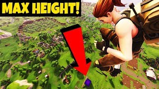 *CUBE KILL* AT MAX HEIGHT IN FORTNITE BATTLE ROYALE!!!
