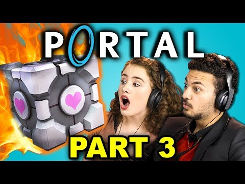 KILL MY FRIEND!? | PORTAL - Part 3 (React: Let's Plays)