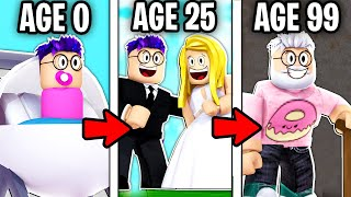 Can You GROW UP In This ROBLOX LIFE SIMULATOR!? (GROWING UP)
