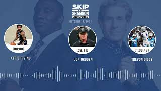 Kyrie Irving, Jon Gruden, Trevon Diggs | UNDISPUTED audio podcast (10.14.21)