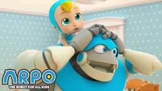 Arpo the Robot | DISHWASHING ROBOT | Funny Cartoons for Kids | Arpo and Daniel
