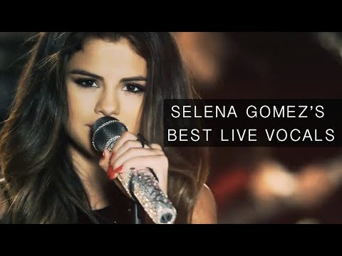 Selena Gomez's Best Live Vocals