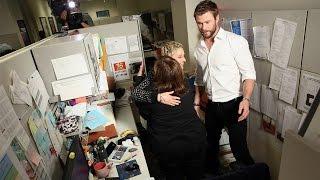 Ellen and Chris Hemsworth's Office Surprise