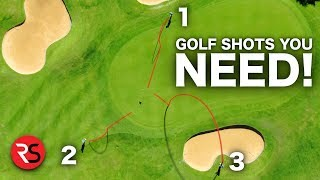 3 golf shots you NEED to LOWER YOUR SCORE!