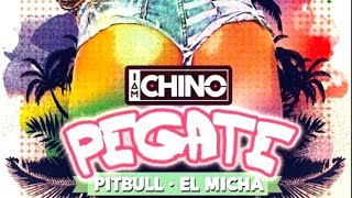 IAMCHINO ➕ Pitbull ➕ El Micha - Pegate [Lyric Video]
