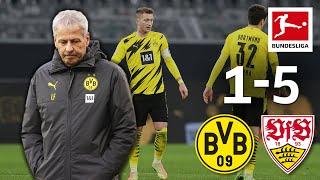 Favre's last match for BVB   Dortmund - VfB Stuttgart   1-5   Highlights   Matchday 11 – 2020/21