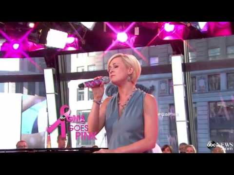 Kellie Pickler Breaks Down in Tears Performing on GMA for Breast ...