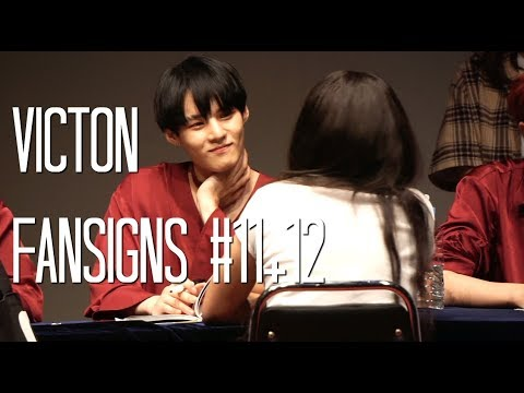 VICTON FANSIGN #11+12 (wow i miss them)