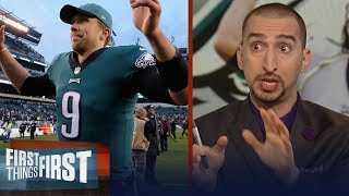 Nick Wright breaks down the Eagles' impressive second-half turnaround   NFL   FIRST THINGS FIRST