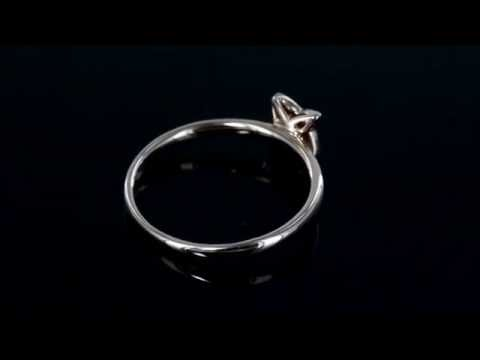 Browns Family Jewellers Rose Gold Diamond Ring