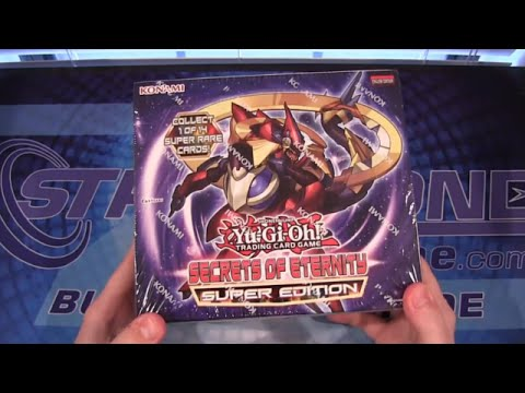 Yugioh Secrets of Eternity Super Edition Box Opening
