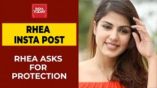 There is a threat to my life says Rhea Chakraborty; demand..