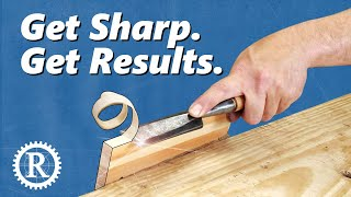 Fast freehand sharpening: no jigs, no guides, no sandpaper.