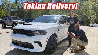 HELLCAT! Taking Delivery of my 2021 Dodge Durango SRT Hellcat