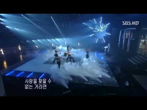 BoA valenti live in SBS