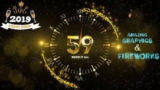 New Year Countdown 2019   Full HD   Happy New Year  