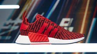 Mở hộp on feet Adidas NMD R2 : thiết kế thay đổi, mới hơn, êm hơn