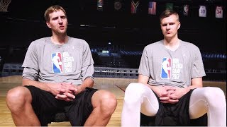 Dirk Nowitzki & Kristaps Porzingis: The Sit-Down