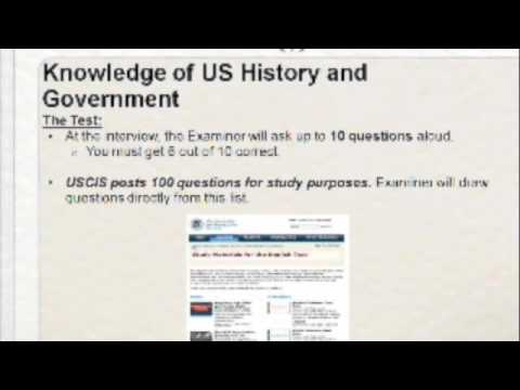 Citizenship English and Civics Test_Bashyam Spiro Immigration Law Webinar