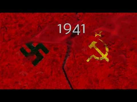 1941 Nazi Germany vs Soviets ALONE: Who would have won?