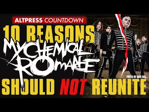 My Chemical Romance Should NOT Get Back Together–Top Ten Reasons Why | AP COUNTDOWN