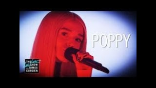 Poppy - Time Is Up - Live on the Late Late Show [REUPLOAD]