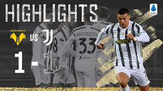 Hellas Verona 1-1 Juventus | Ronaldo scores in Bianconeri draw at the Bentegodi | Serie A Highlights
