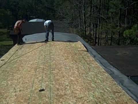 Mobile Home Leak Mobile Home Repair Roof Leaks Youtube