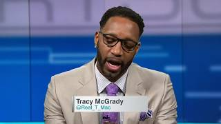 T-Mac's top five (Starting five) NBA players of all time  (2015)