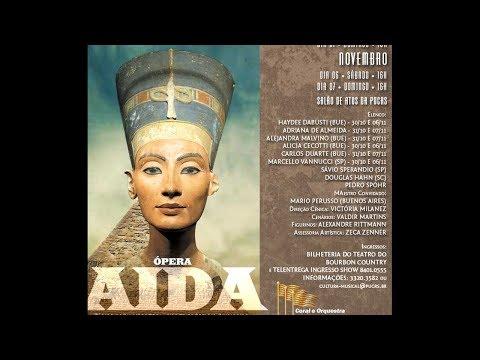 Ópera Aída - Coral e Orquestra dos Concertos Comunitários - 2010
