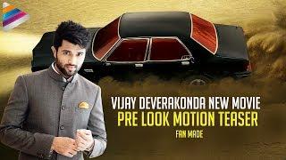 Vijay Deverakonda New Movie Pre Look Motion TEASER..