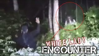 White Lady Closer Encounter at the Forest