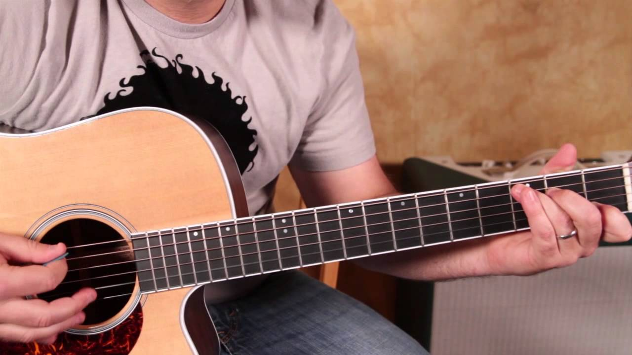 how to play johnny cash on acoustic guitar jackson tutorial youtube. Black Bedroom Furniture Sets. Home Design Ideas