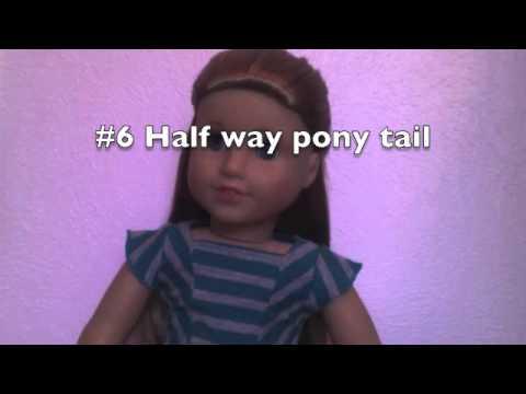 Enjoyable Watch More Like American Girl Doll Mckenna Hairstyles Short Hairstyles For Black Women Fulllsitofus