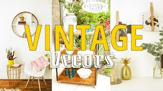 20 Vintage Decor ideas for anyone loves DIY activities