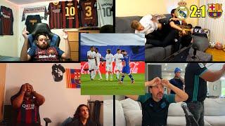 Crazy Barcelona and Real Madrid Fan Reactions to El Clásico - Barcelona 1:2 Loss vs Real Madrid