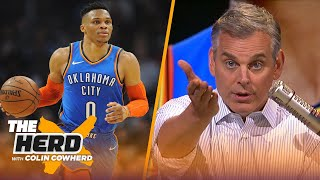 Colin Cowherd calls on Adam Silver to protect his players after Westbrook incident | NBA | THE HERD