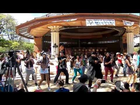 [120714] Official SMTown in Hawaii Kpop Flashmob @ Korean Festival
