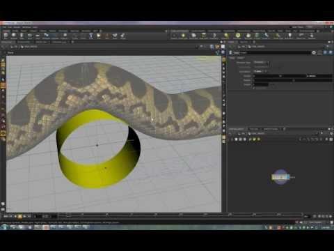 Piranhaconda - Houdini Rig Overview
