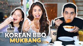 KOREAN BBQ MUKBANG + QUESTIONS! | IVANA ALAWI