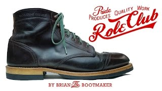 Wolverine 1000 Mile Boot Resole #29