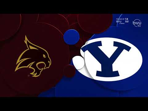 BYU vs Texas State Game Highlights - 10/23/20