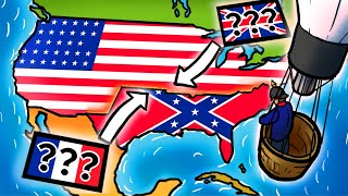 American Civil War from The European Perspective | Animated History