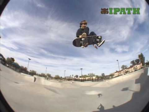 "Aaron ""Jaws"" Homoki at PV Skatepark"