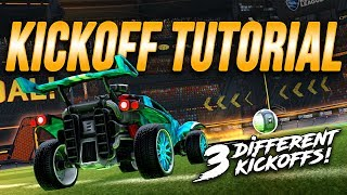 ULTIMATE KICKOFF TUTORIAL! The ScrubKilla, Wavedash, & JHZER Fast Kickoffs | Rocket League Tips