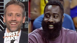 James Harden isn't a top 5 NBA player - Max Kellerman | First Take