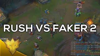 Rush vs. Faker #2 - Korean Solo Queue Funny Moments & Highlights