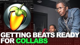GETTING BEATS READY FOR COLLABS