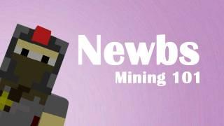 Newbies: Mining 101 (Minecraft Machinima)
